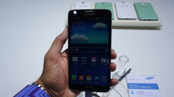 Hands On Samsung Galaxy Note 3 Neo