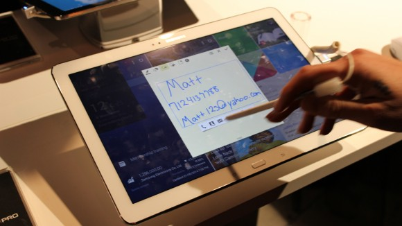 Hands On Samsung Galaxy Note Pro at Forum 2014