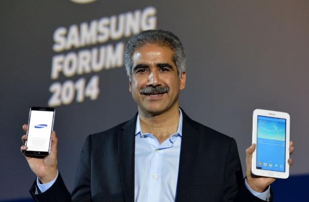 Presenting Samung Tab 3 Neo at Samsung Forum 2014